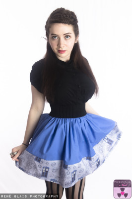 GALIFREYAN BOARDER SKIRT